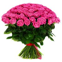 Букет из розовой розы Pink Floyd